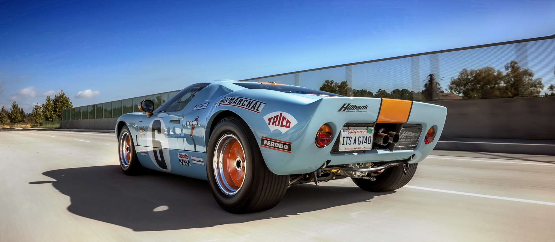 Genuine GT40 car for sale, produced by Superformance