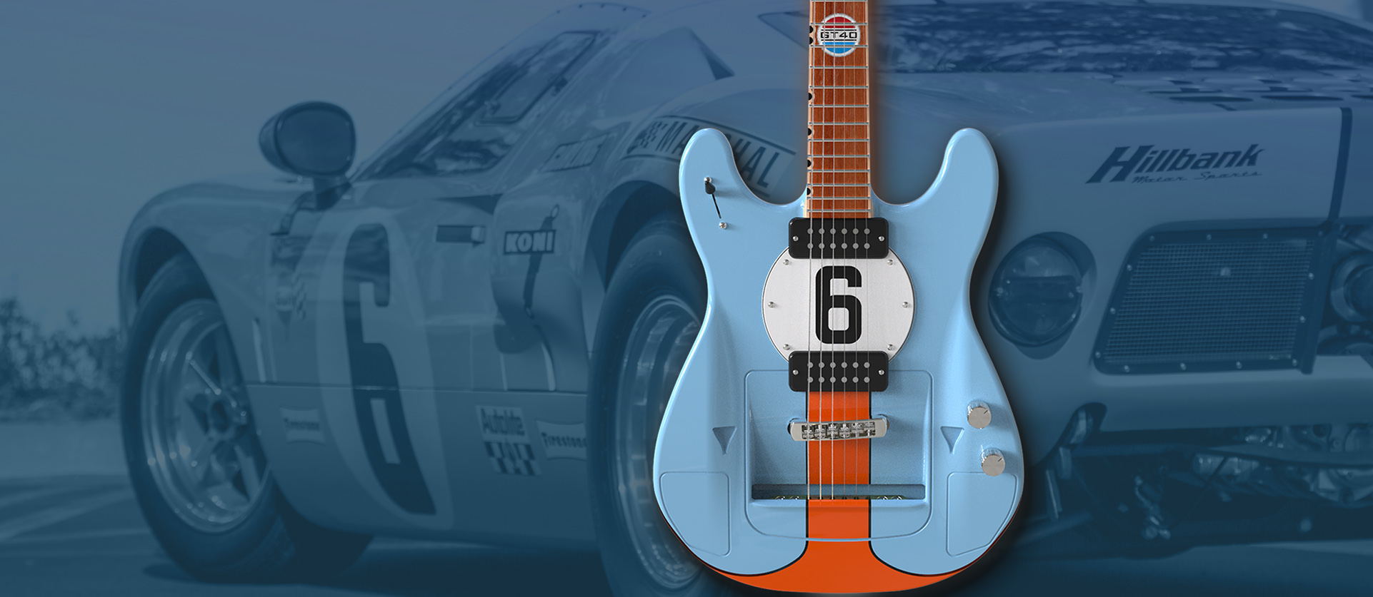 GT40 Guitars for sale
