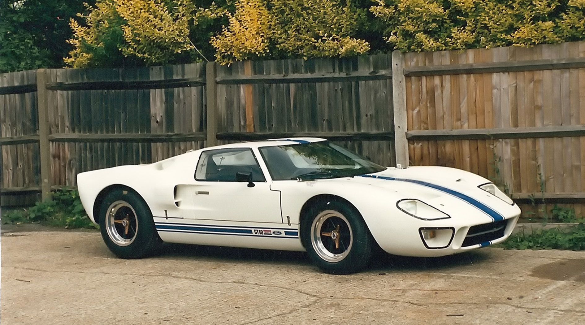 GT40 Mark V chassis 1116