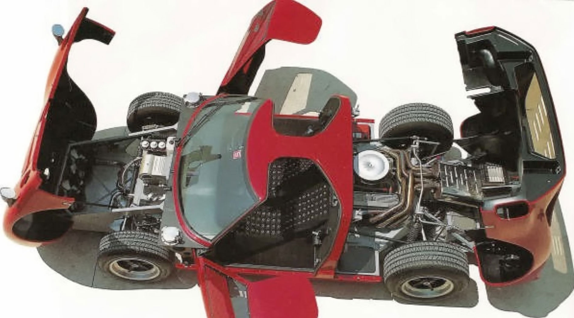 GT40 Mark V chassis 1121