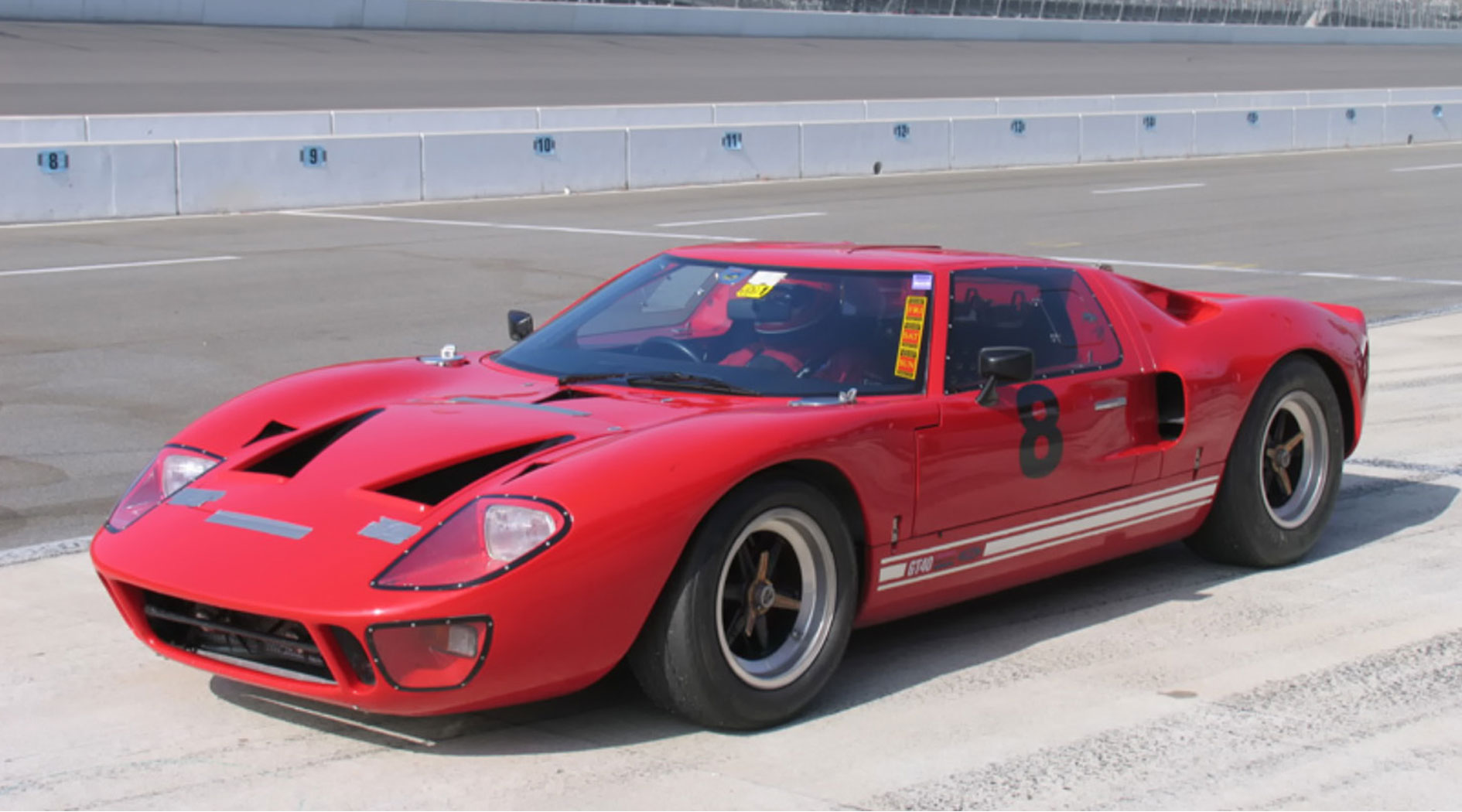 GT40 Mark V car chassis 1124