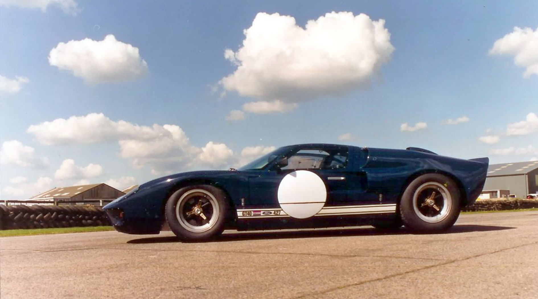 GT40 Mark V chassis 1128