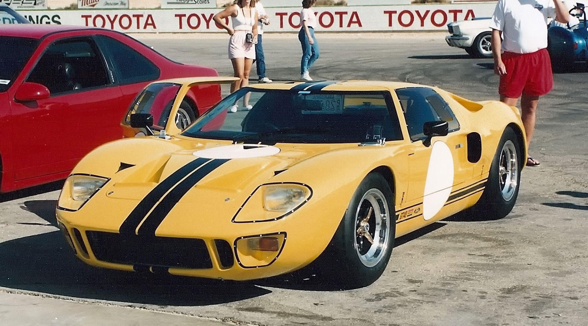 GT40 Mark V chassis 1134.