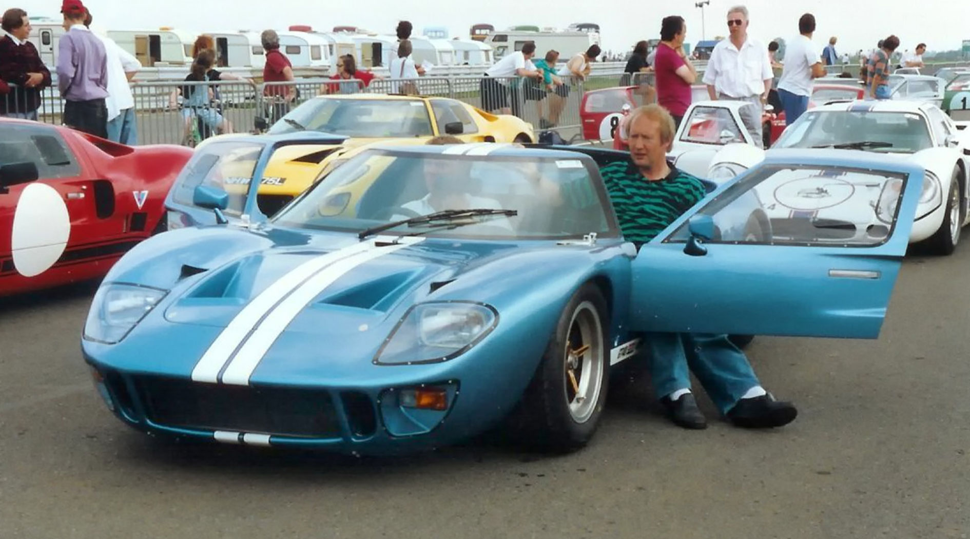 GT40 Mark V chassis 1135